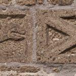 gebouw historisch rechtsteken – de draak en het schuinkruis