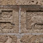 gebouw historisch rechtsteken – paaslam en christelijk kruis
